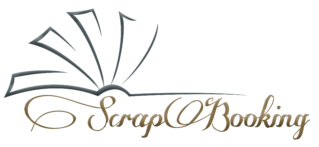 Scrapbooking logo without shaddow